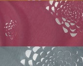 touching design blossom color jersey scarf - cherryblossom pink