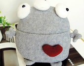Gray 3-eyes the Fairy Monster - Desk Mate and Home Decor