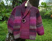 Girl Wool Pink Jacket