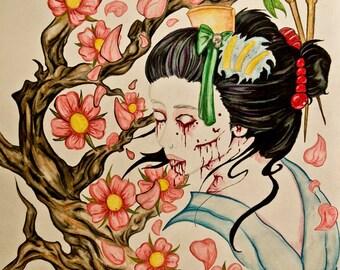 Zombie Geisha