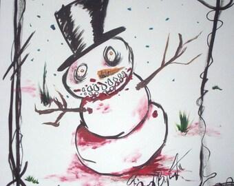 Frosty the Blowman