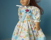 Doll Clothes - For American Girl Doll and similar 18 inch Doll. BIRD HOUSE- 4-Pc for American Girl, Journey Girl, Girl Generation Dolls.