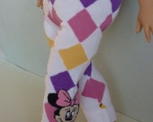 "American Girl Doll Clothes -DOLL LEGGINGS. Handmade by The Trendy Doll for  American Girl Doll and Similar 18"" Doll."
