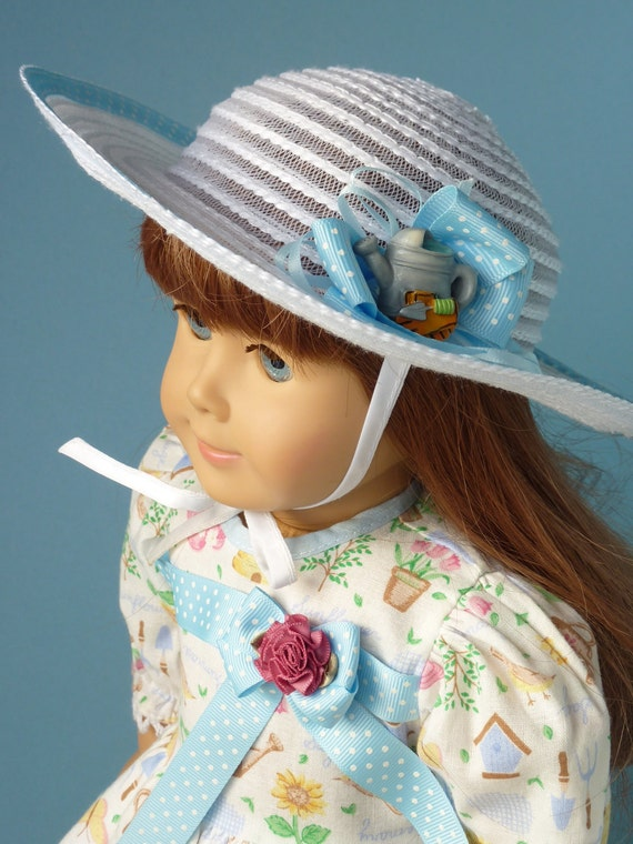 """DOLL DRESS Doll Hat, 4 Pc. 18"""" Doll Clothes. Made To Fit Beautiful Play Doll W/ Body Type Like American Girl® Doll Or Similar 18 Inch Doll."""