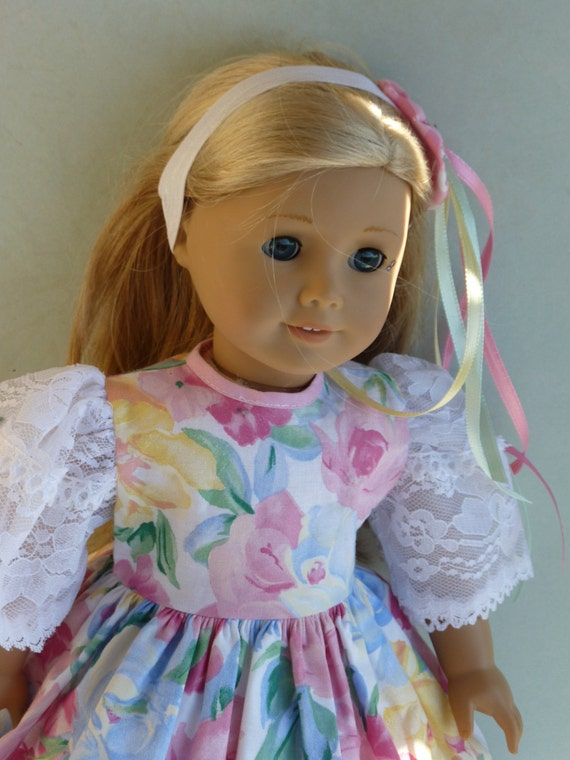 """American Girl Doll Clothes- The  Misty Spring, 3-Piece Doll Outfit. Handmade by The Trendy Doll for 18"""" American Girl Doll"""