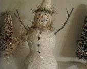 """8"""" Glitter Snowman"""