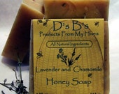 Lavender  Honey Soap with Chamomile