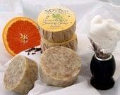 Hemp and Honey Shaving Soap made with Hemp Oil & Bentonite