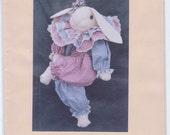 BeBE BUNNIE, a cloth doll bunny sewing pattern
