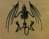 Bat Skeleton Patch