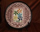Decorative Ceramic Tile Mosaic Plate/Tray