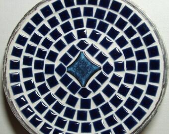 "8"" mosaic plate"