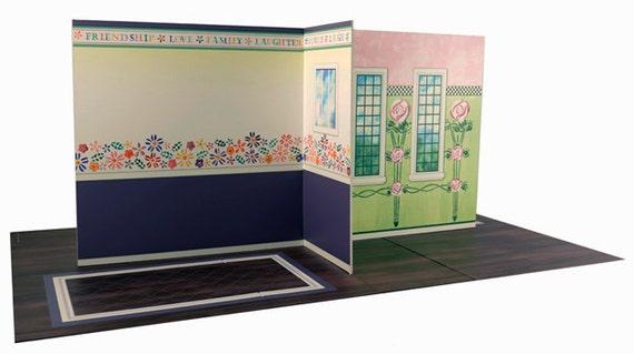 American Girl DollHouse Four Room