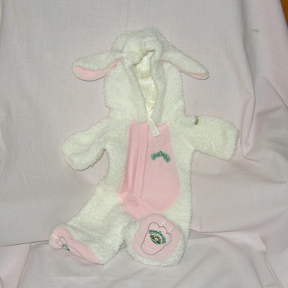 SALE Cabbage Patch Kids Lamb Costume Animal Sleeper - Authentic Vintage 1984 CPK doll clothes