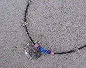 Clearance Priced. Butterfly Kisses Necklace - 22 inches - Item Number 143