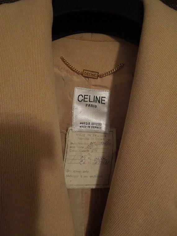 Authentic Vintage Celine Paris Blazer