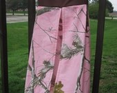 Diaper stacker made from pink camo