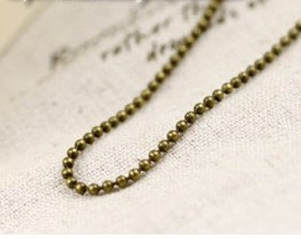 5 meter plating antique bronze  chain