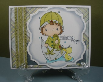 Thinking Of You, Rainy Day Card