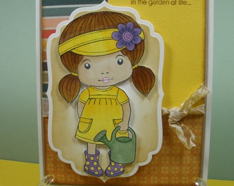 Flower Girl Friendship Card