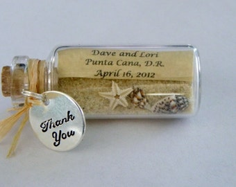 Mini Message Bottle Favors with or without super strong magnet sold in lots of 12 or more