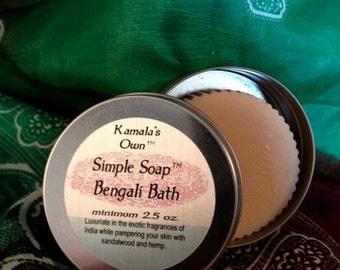 Bengali Bath solid soap