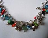 Sweet Summertime Handmade Charm Bracelet