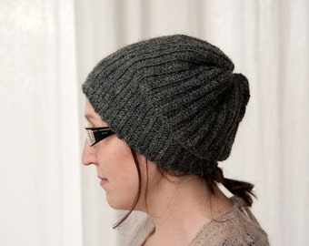 Ribbed Lopi Hat PDF Crochet Pattern
