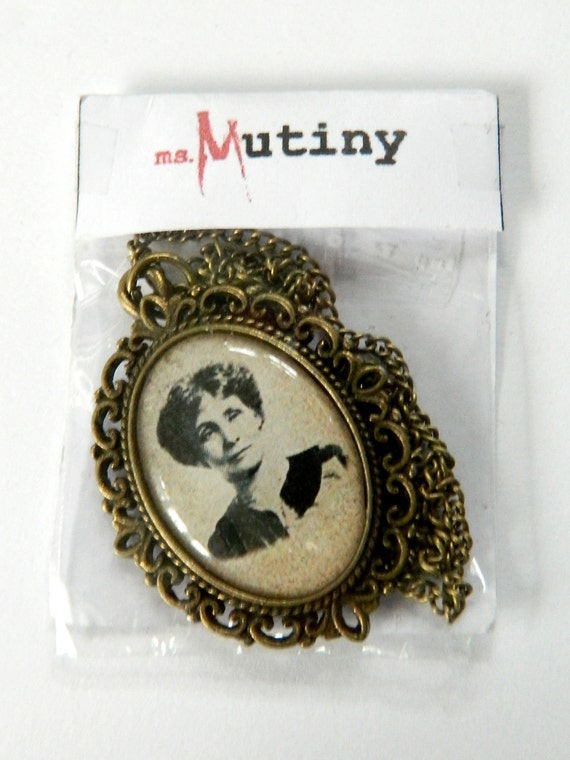 Emmeline Pankhurst Pendant Necklace