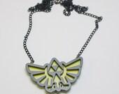 Legends Of Zelda Triforce Pendant necklace full