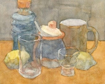 Still Life Original Watercolor