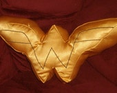 Wonder Woman inspired throw pillow, Made to Order