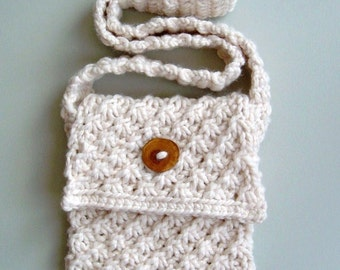 Knitting Pattern: Ipod Case (dark grey and pink), also added to