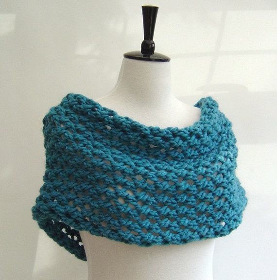 Knitting A Scarf Quickly : Knitting pattern infinity scarf quick and easy