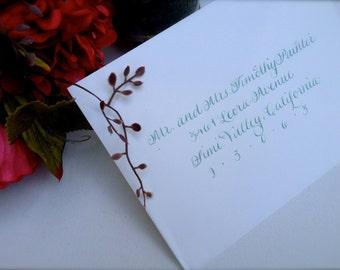 Wedding Calligraphy Addressing