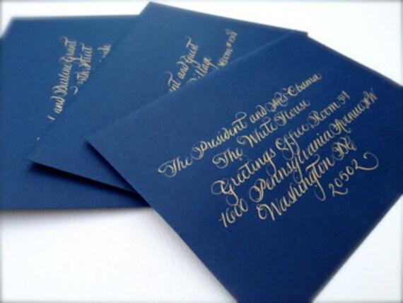 Wedding Calligraphy Addressing-Arabella Font