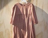 Children's Long Sleeved Dress size 4-6