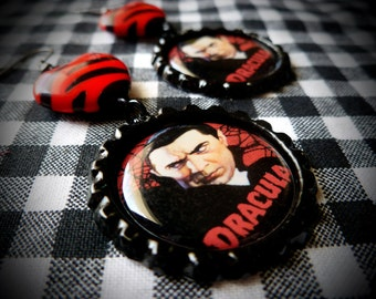 Dracula earrings