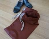 Men's Double Compartment Shoe Bag
