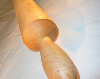 Shaker Rolling Pin in Maple - Funky Gift for Pizza Pasta Pastry Chef and Gourmet