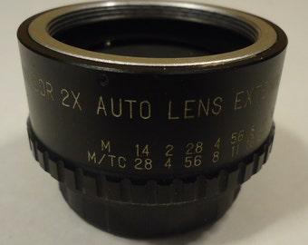Kalcor 2X Auto Lens Extender for Pantex with Case Vintage - Metal Plastic
