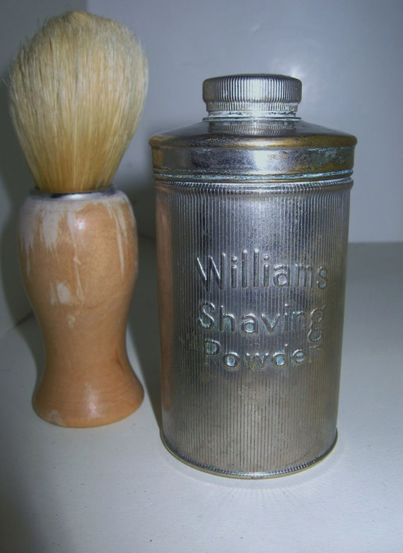 Vintage Williams Shaving Powder Tin