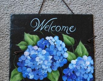 Blue Hydrangea Slate