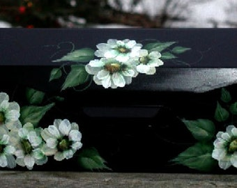 White Daisy Mailbox