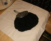 Vintage Miser's Pouch style Purse with mirror