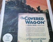 The Covered Wagon Silent Movie program
