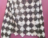 Antique Hand Crocheted Formal Blouse