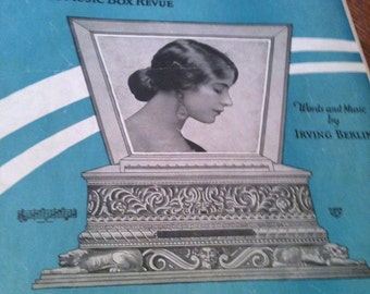 Irving Berlin's All Alone sheet music