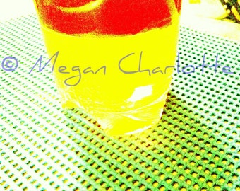"Photography Print- ""Strawberry Lemonade"""