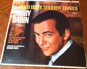 Bobby Darin - From Hello Dolly to Goodbye Charlie LP Album